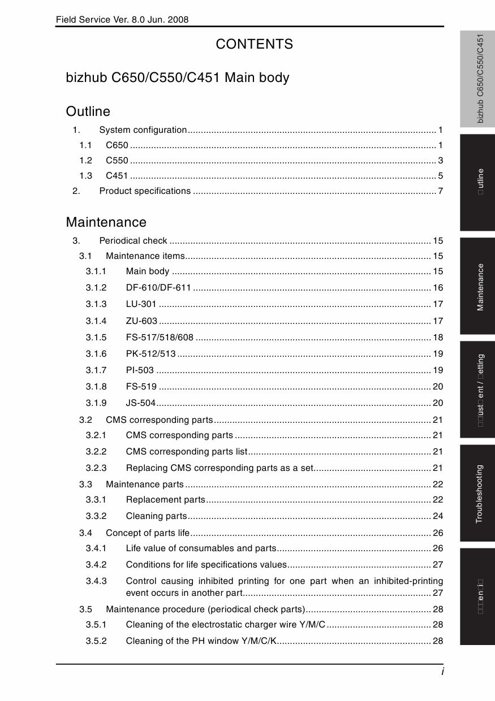Konica-Minolta bizhub C451 C550 C650 FIELD-SERVICE Service Manual-2